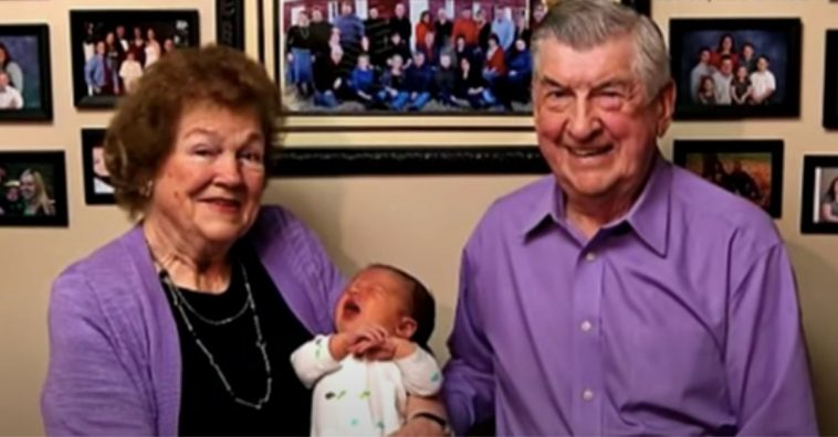 Couple Celebrates 61 Years Of Marriage And Birth Of Their 102nd Grandchild