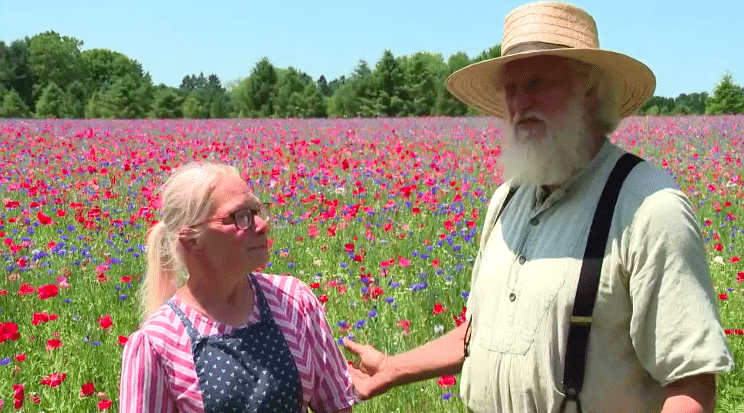 Couple Creates Field Of Flowers For Late Son Who Died In Afghanistan