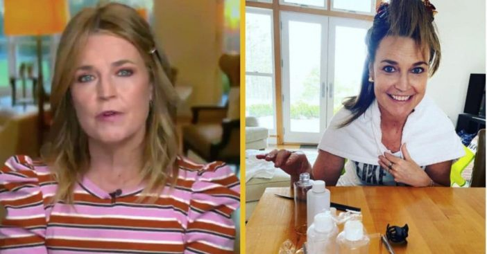 Critic Calls Savannah Guthrie's On-Air Hairstyle 'Unkempt,' She Shares The Reason Why