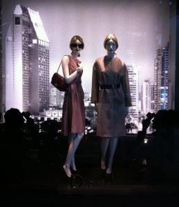 Dior models faced some positives and negatives