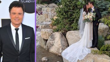 Donny Osmond's Son Josh Gets Married In Backyard Wedding — Congratulations!