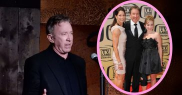 Tim Allen admits to not being very present for his first marriage and round as a father