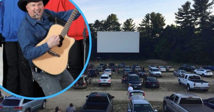 Garth Brooks is holding a concert for drive in theaters