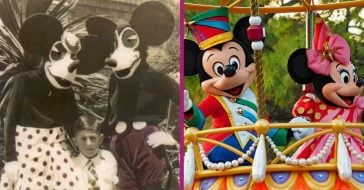 Have You Seen This CREEPY Mickey & Minnie Duo From Back In 1939_
