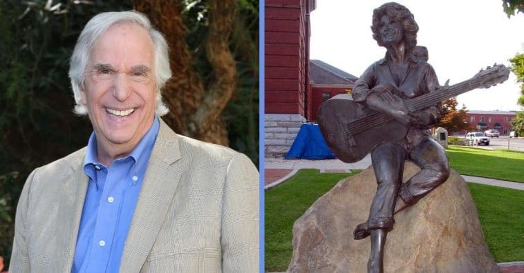 Henry Winkler Voices Support For Replacing KKK Statue With Dolly Parton Statue