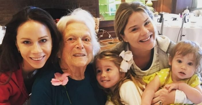 Jenna Bush Hager shared a tribute for her late grandmother Barbara Bush birthday