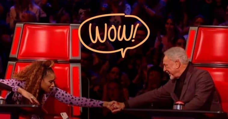 Jennifer Hudson and Sir Tom Jones deliver incredible duet