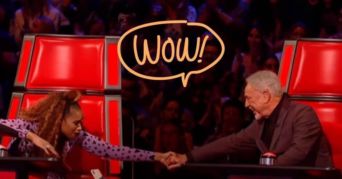WATCH: Tom Jones Challenges Jennifer Hudson In A Singing Battle On 'The Voice UK'