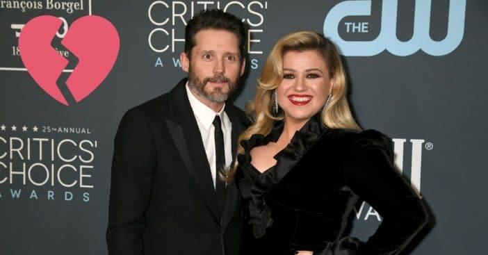 Kelly Clarkson getting divorced from husband Brandon Blackstock