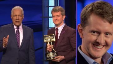 Ken Jennings Once Trash-Talked 'Jeopardy!' And Alex Trebek