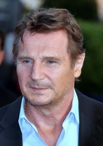 Liam Neeson was not able to see his mother Kitty laid to rest because he was in New York
