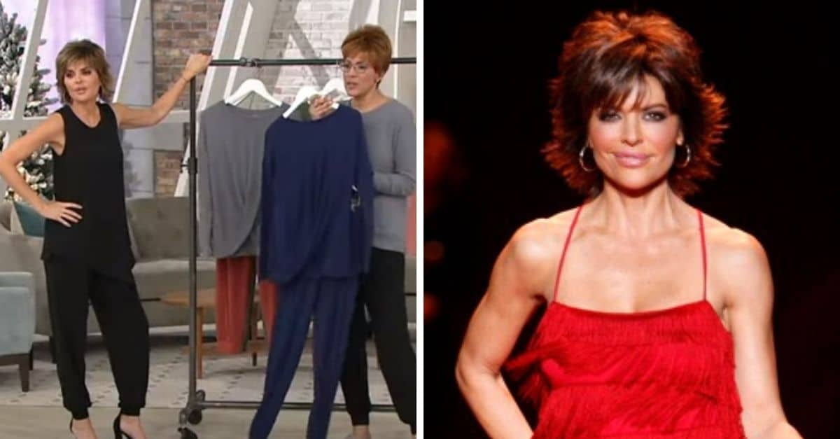 Lisa Rinna Puts Down Fans Who Are Trying To Get Her Fired From QVC