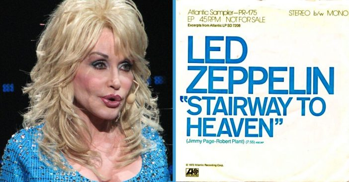 Listen To Dolly Parton Put A Beautiful Country Spin On _Stairway To Heaven_