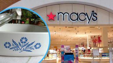 Macys is having a sale on vintage CorningWare products