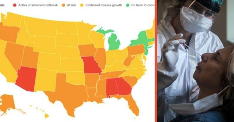 Nearly 30 U.S. States Report Coronavirus Surges