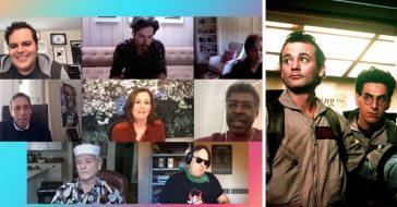 Original Ghostbusters cast reunited virtually