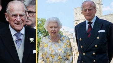 Prince Philip Poses With Queen Elizabeth II For His 99th Birthday