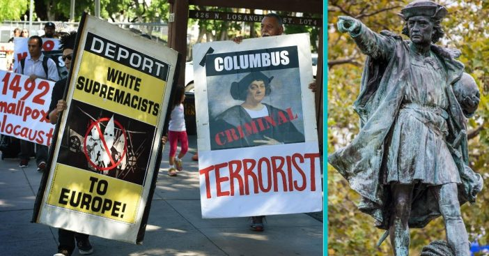 Statues Of Christopher Columbus Are Being Vandalized Throughout The U.S.
