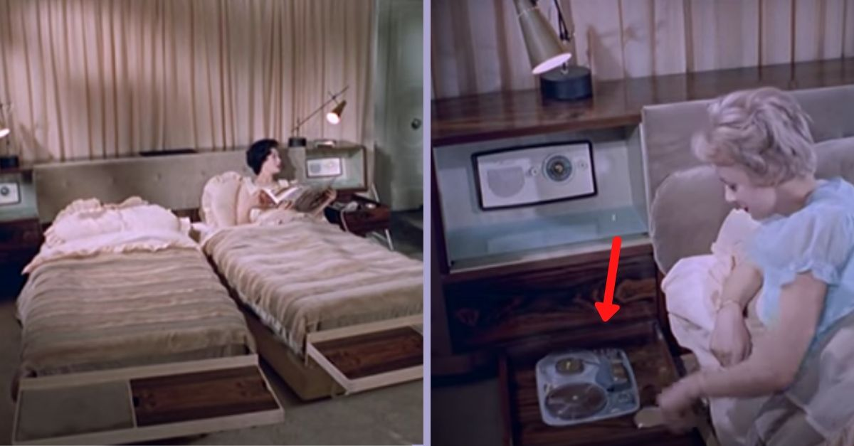 This 1950s Bed Had Futuristic Features That Were Considered Revolutionary For Its Time