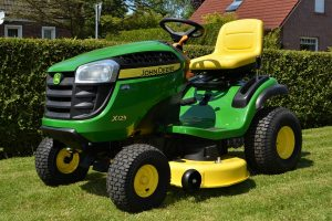 Today offers lawn mowers that require less effort but can harm the environment