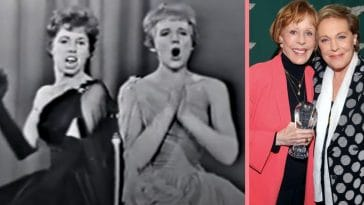 WATCH_ Carol Burnett And Julie Andrews Duet 'West Side Story' Song In 1962
