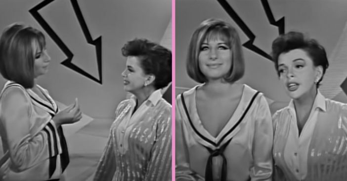 WATCH_ Judy Garland And Barbra Streisand Sing Beautiful Duet Together In 1963