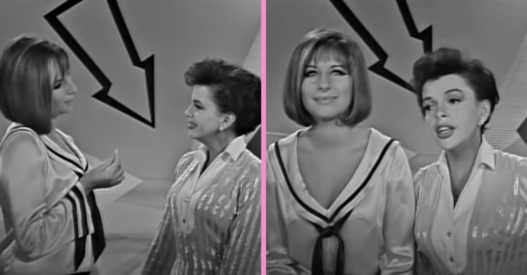 WATCH_ Judy Garland And Barbra Streisand Sing Beautiful Duet Together In 1963