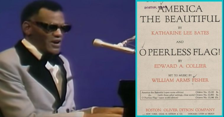 WATCH_ Ray Charles Delivers Stunning Rendition Of _America, The Beautiful_