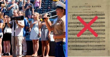 What's behind criticism towards the American national anthem