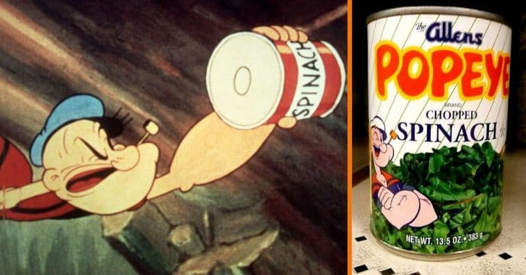 Why Was Spinach Popeye The Sailor Man's Prime Food_