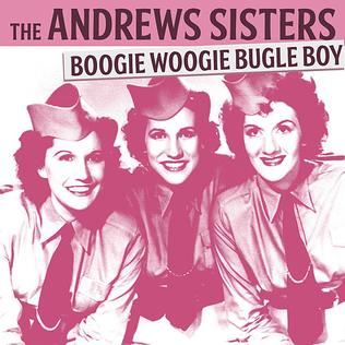 "Girl Group Performs Andrew Sisters Hit ""Boogie Woogie Bugle Boy"" Like It's The 1940s Again"