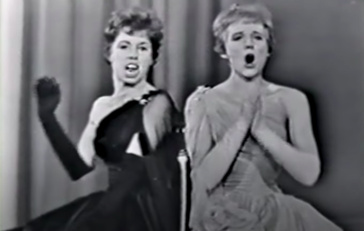 WATCH: Carol Burnett And Julie Andrews Duet 'West Side Story' Song In 1962