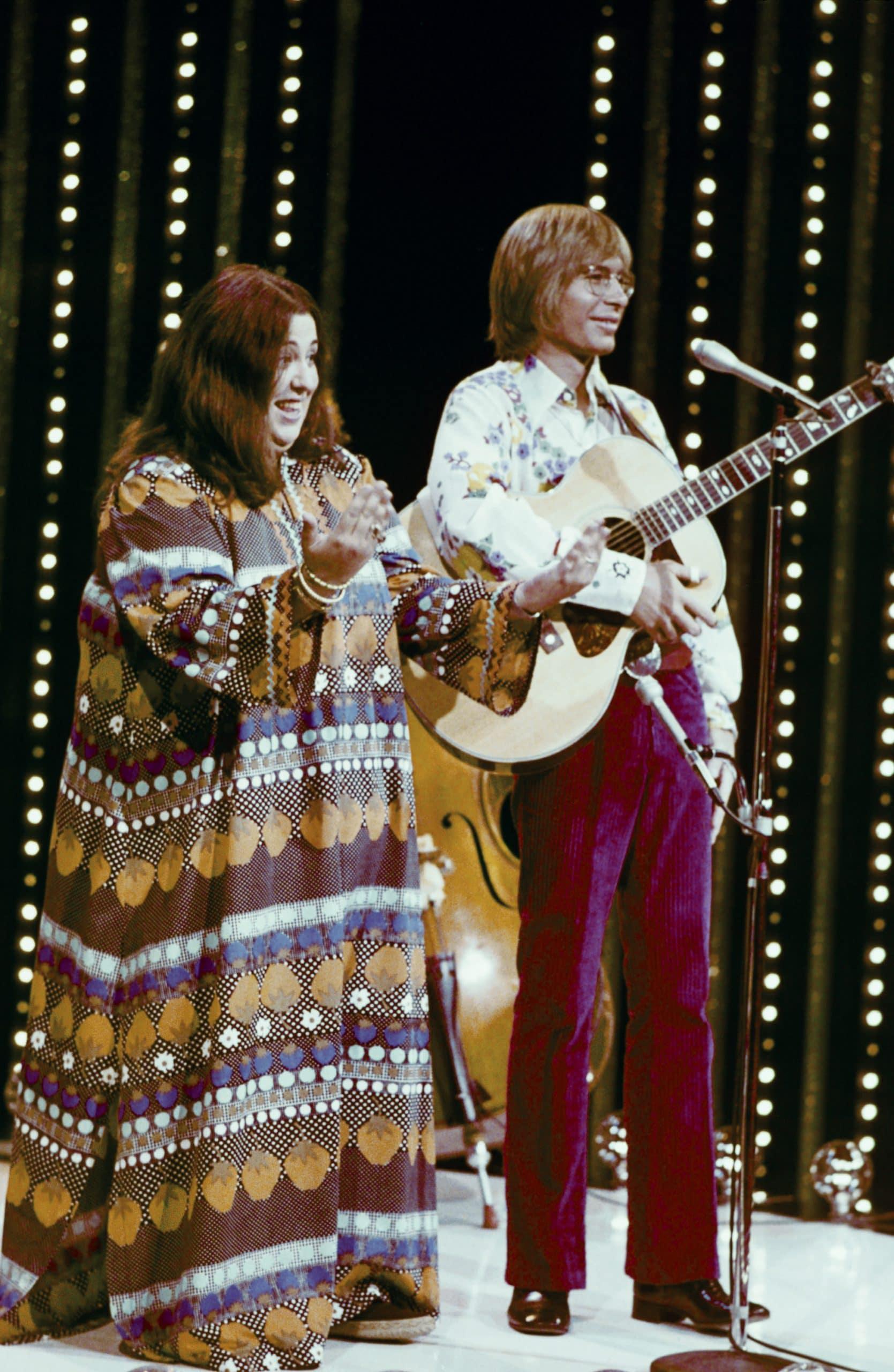 "WATCH: Rare Performance Of John Denver & Cass Elliot Singing ""Leaving On A Jet Plane"""