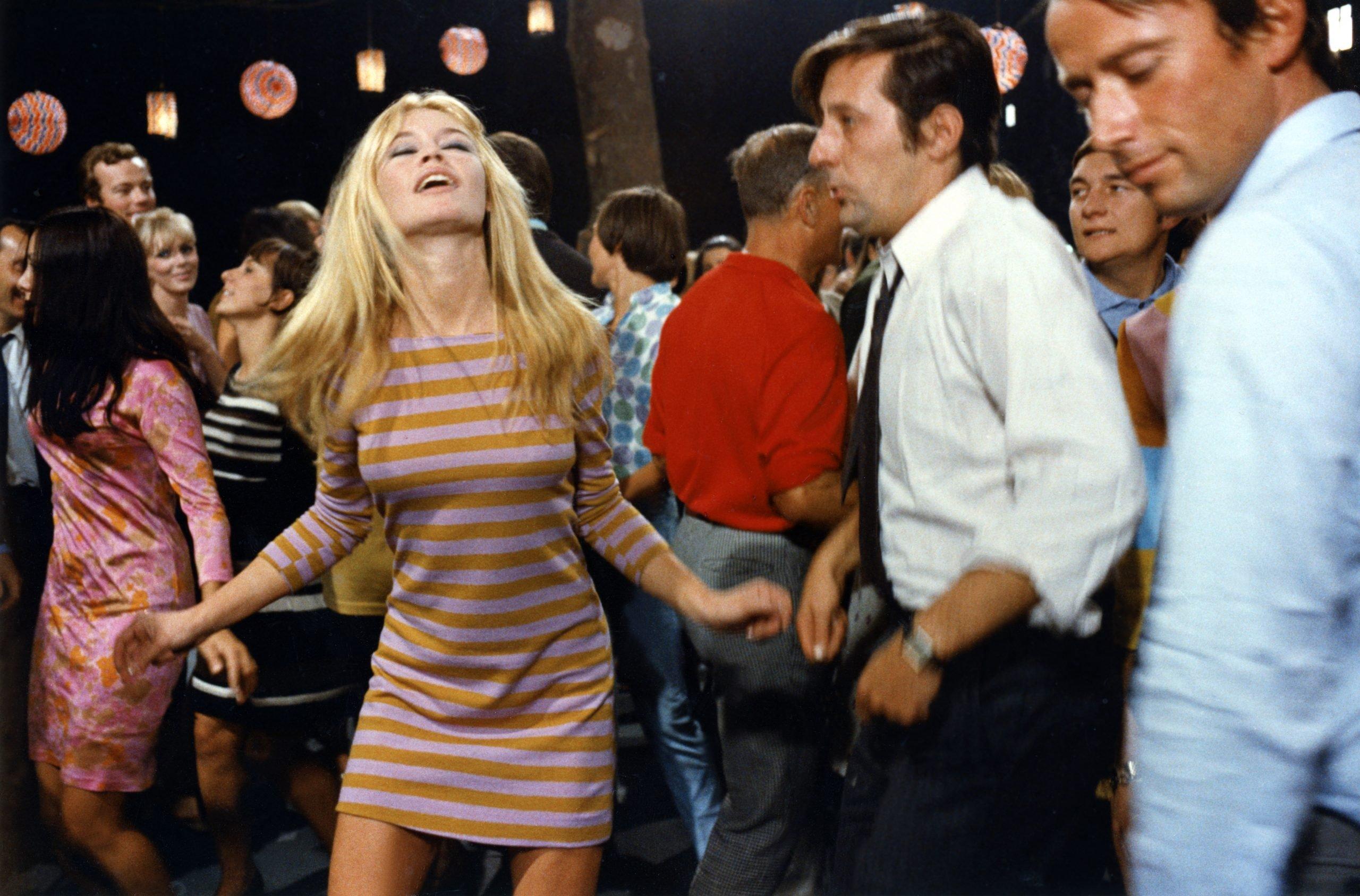 brigitte bardot dancing 1960s