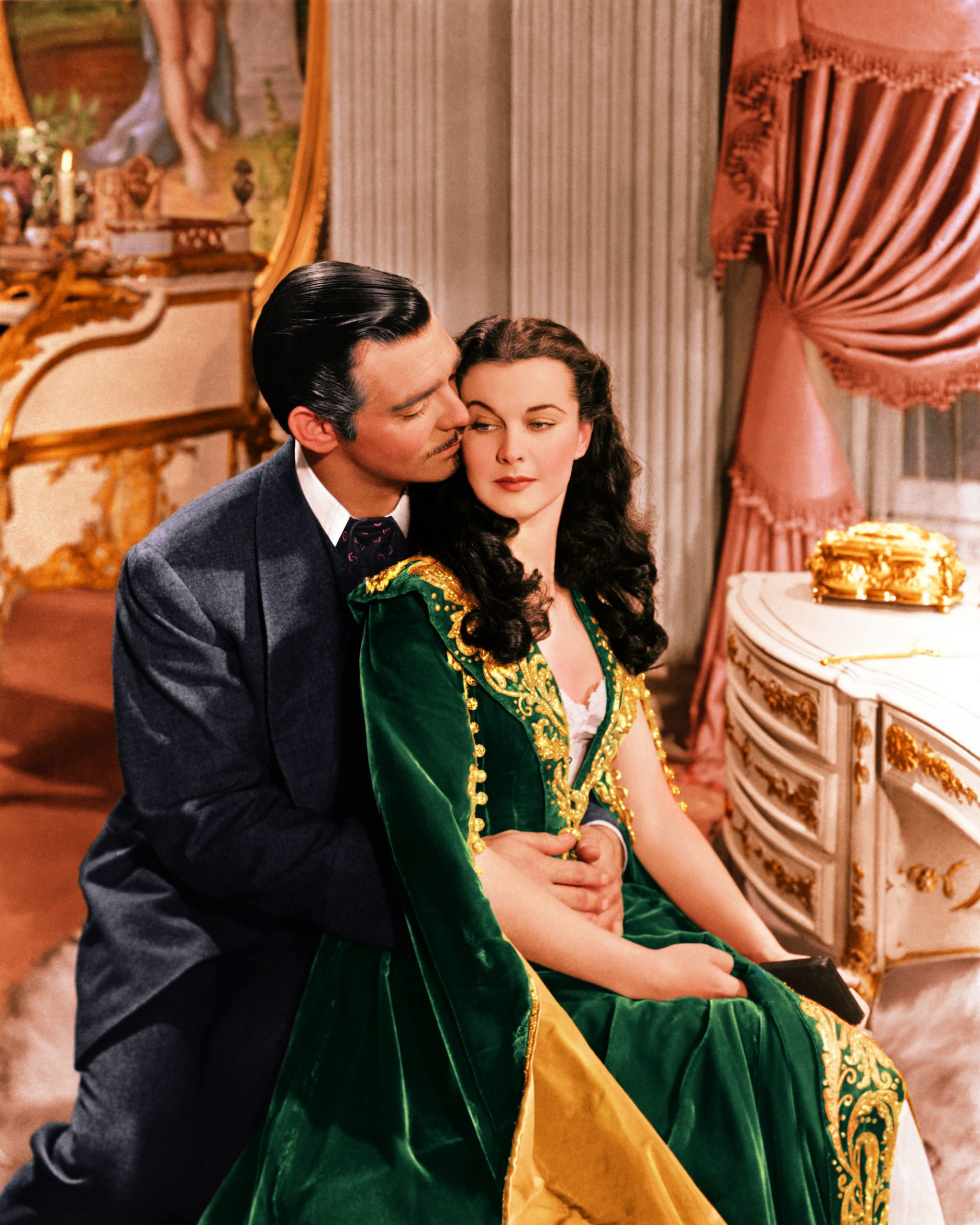 gone with the wind clark gable and vivien leigh