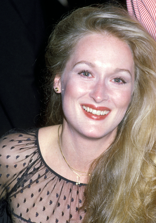 meryl streep throwback