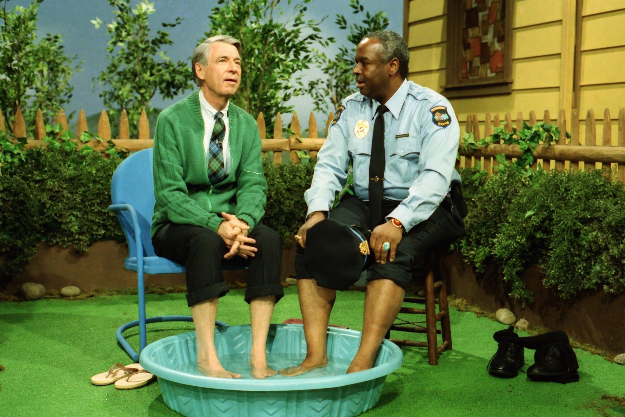 mister rogers officer clemmons pool scene