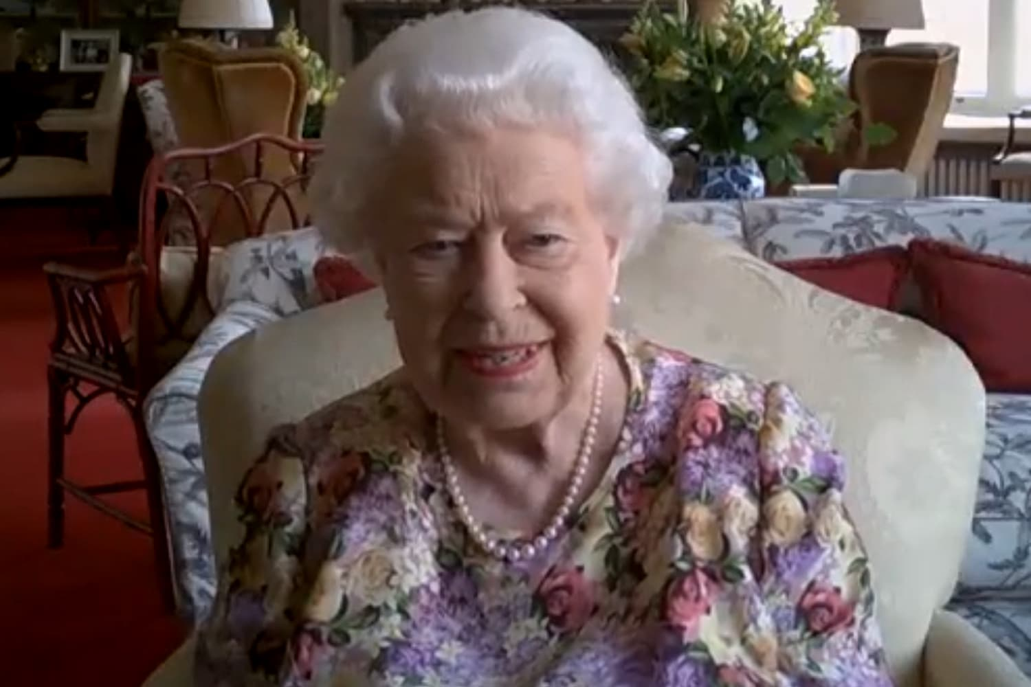 Queen Elizabeth II Salutes Caregivers In New Public Video With Daughter Princess Anne