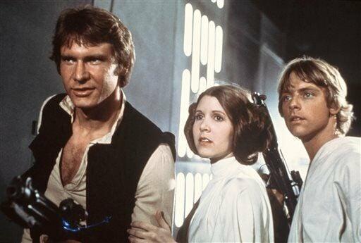 star wars movie 1977