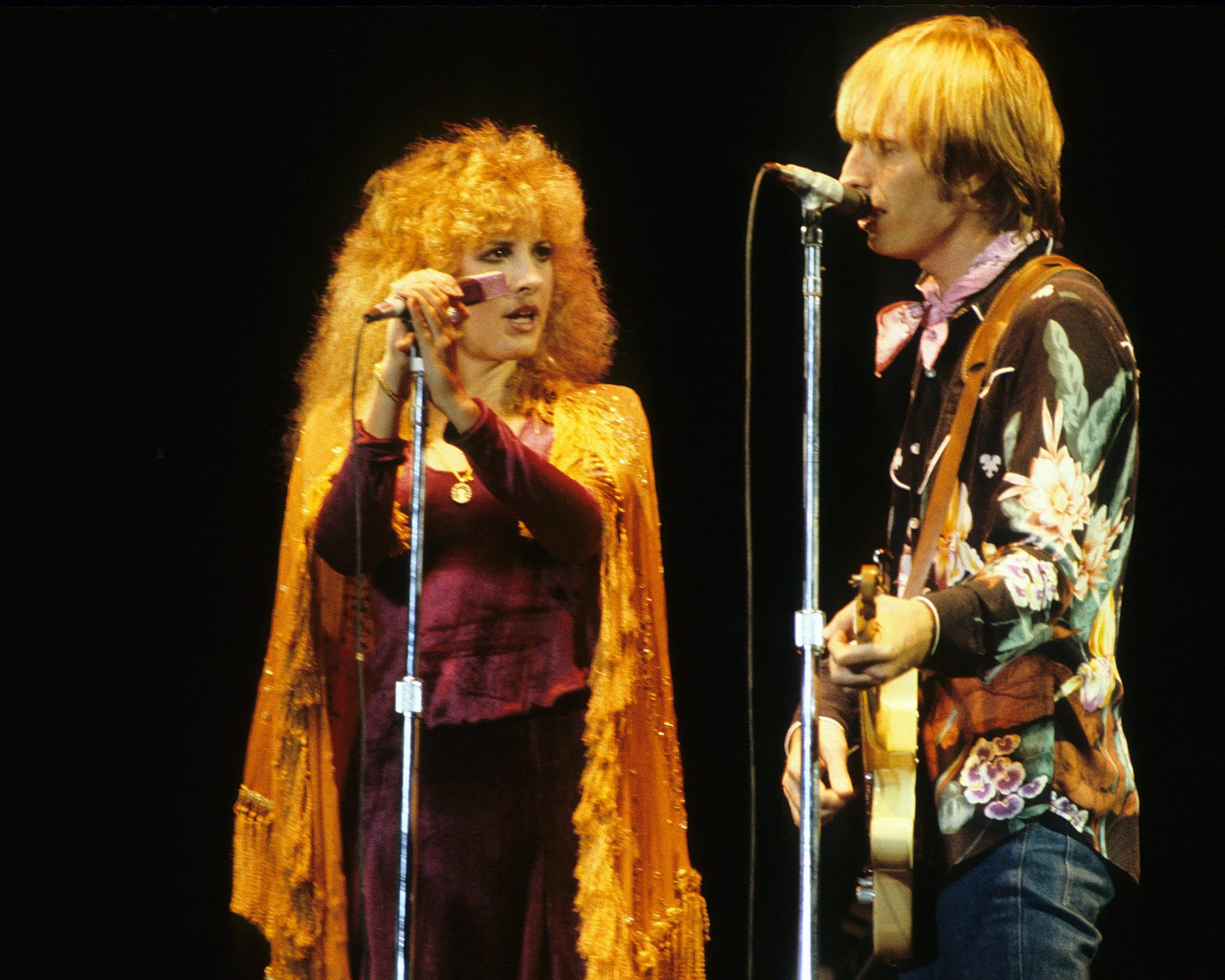 stevie nicks tom petty performing in the 1980s