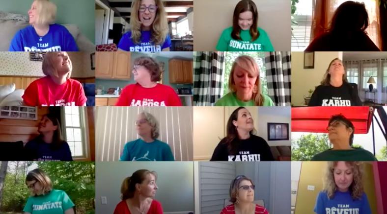 Teachers create 'Brady Bunch' parody video for students