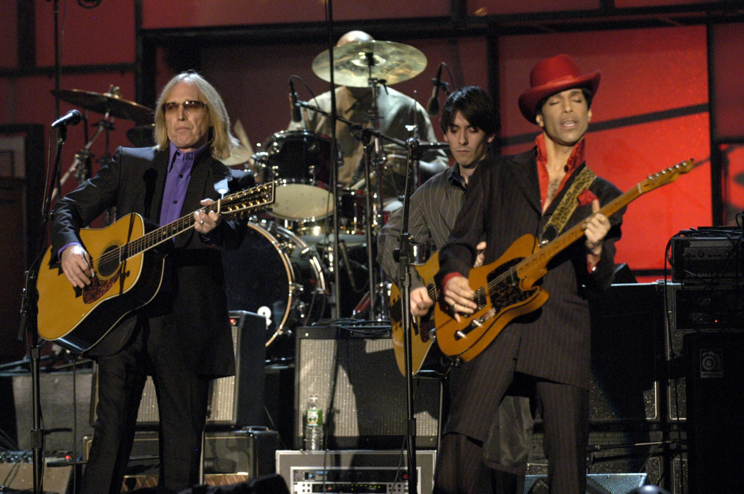 tom petty and prince perform together