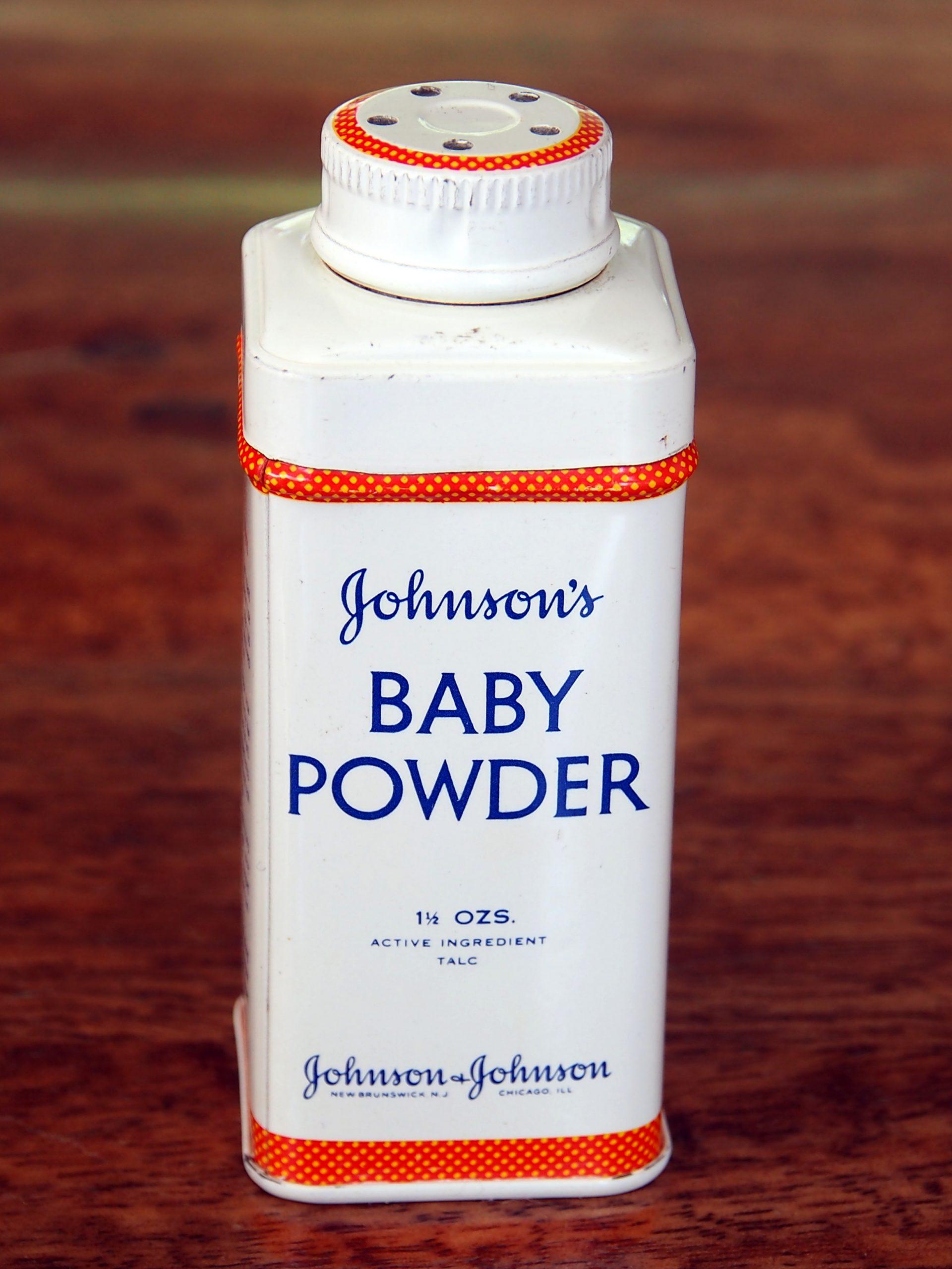 vintage baby powder