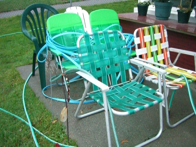 vintage lawn chairs