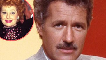 Alex Trebek says Lucille Ball helped to get him hired as the host of Jeopardy