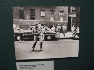Anyone could easily play stickball, which is derived from lacrosse, in turn derived from a game among America's indigenous