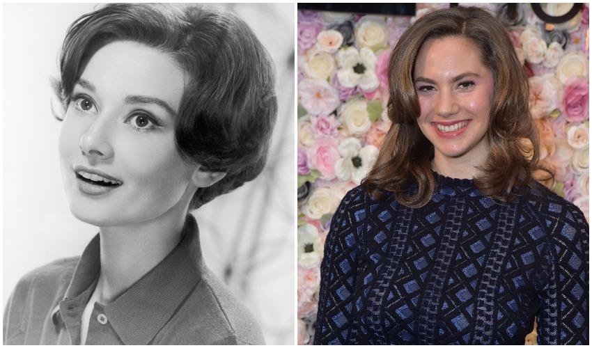 Audrey Hepburn & Emma Ferrer