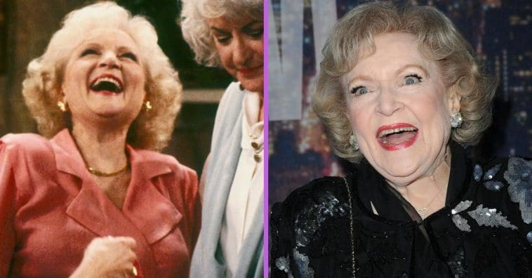 Betty White talks about being on The Golden Girls