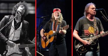 Bob Dylan, Willie Nelson, and Neil Young still have new albums solidifying their place in music today
