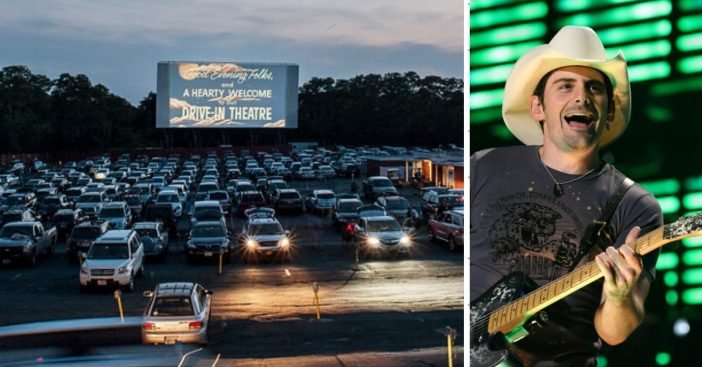 Brad Paisley will headline first drive in concert series